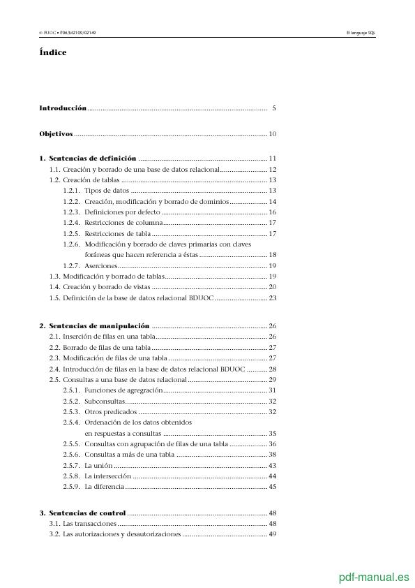 Curso El lenguaje SQL 2