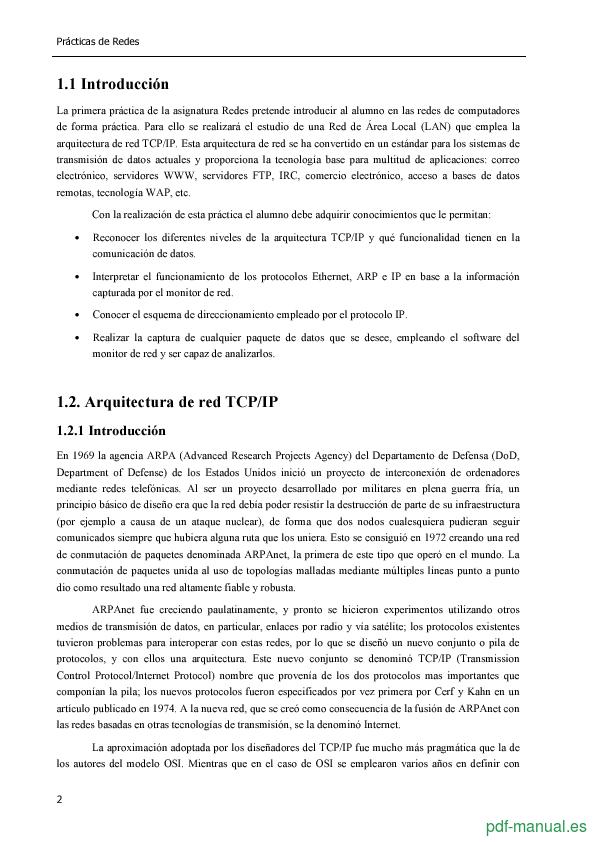 Curso Introducción a Redes y a TCP/IP sobre Tecnología Ethernet 2