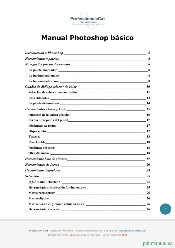 Curso Manual Photoshop básico 2