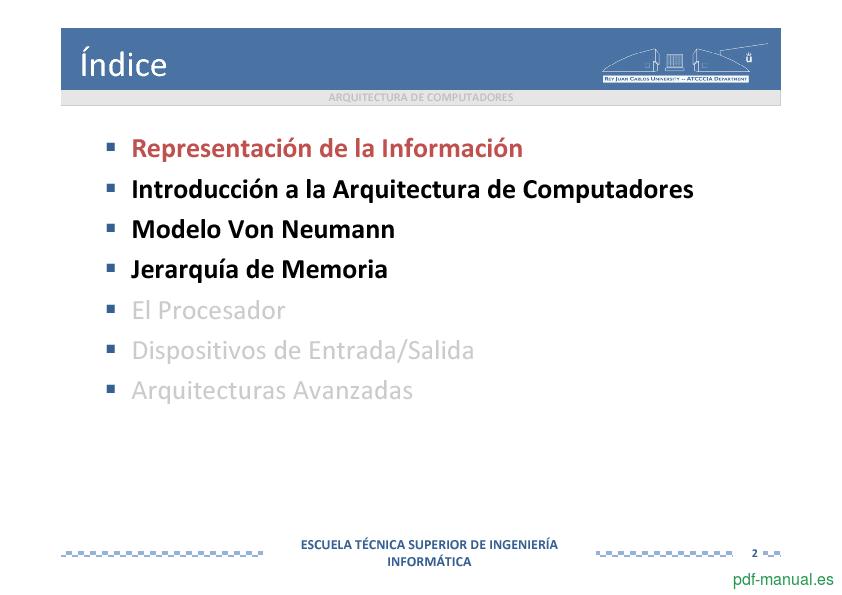Curso Arquitectura de Computadores 2