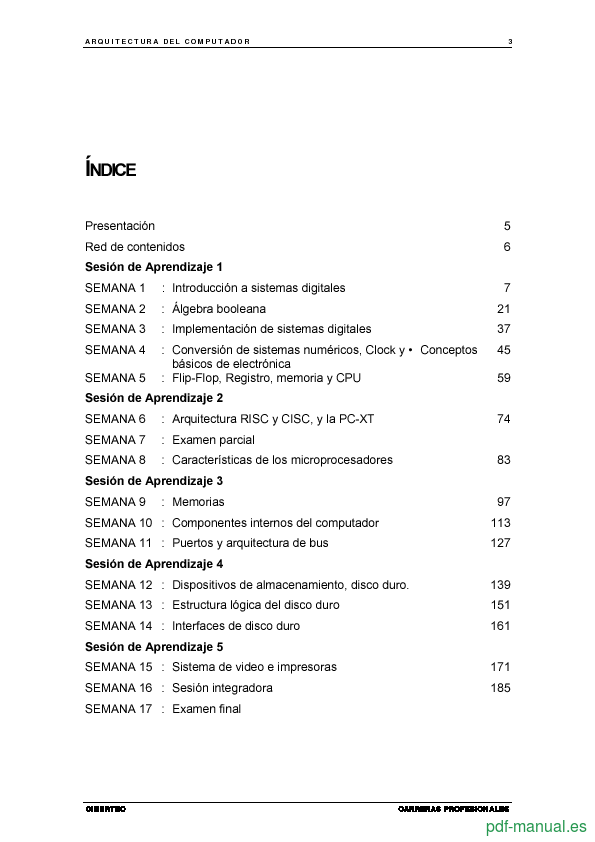 Curso Arquitectura del Computador  2