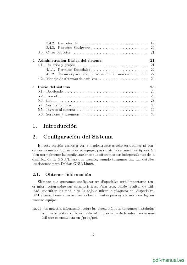 Curso Configuración y administración de un sistema GNU/Linux 2