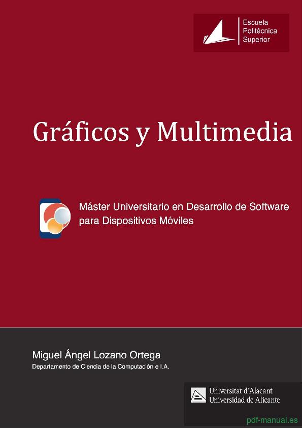 Curso Gráficos y Multimedia 1