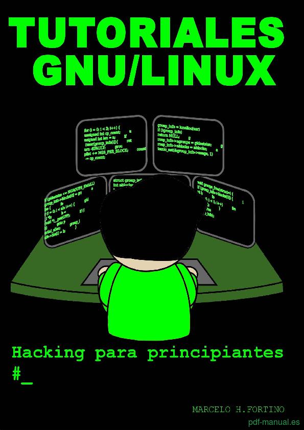 Curso Tutoriales GNU/Linux Hacking para principiantes 1