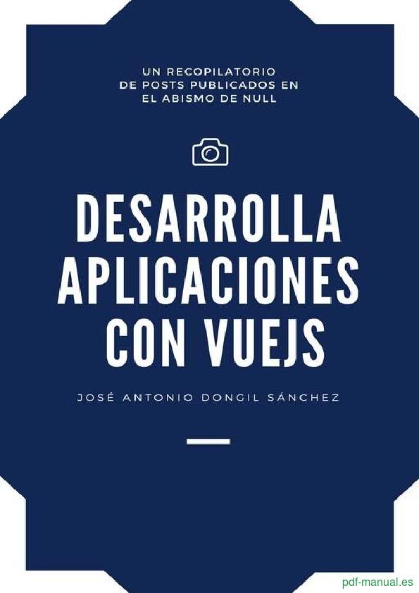 Curso Desarrolla aplicaciones con VueJS 1