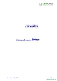 Curso Primeros Pasos con Writer 1