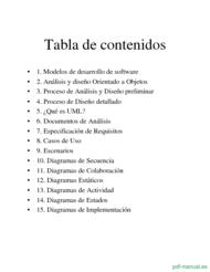Curso Introducción a UML 2