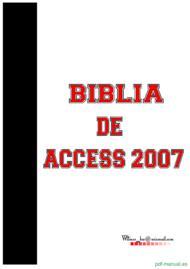Curso Biblia de Access 2007 1