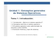 Curso Conceptos generales de Sistemas Operativos 1