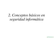 Curso Conceptos básicos en seguridad informática 1