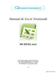 Curso Manual de Excel Avanzado 1