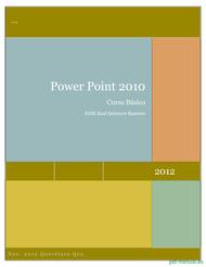 Curso PowerPoint 2010 Curso Básico 1