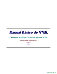 Curso Manual Básico de HTML 1