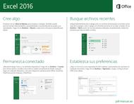 Curso Excel 2016: Guía de inicio rápido 2