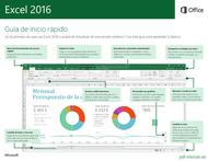 Curso Excel 2016: Guía de inicio rápido 1