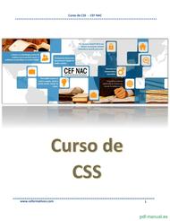 Curso Curso de CSS  1