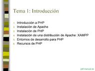 Curso PHP y MySQL - Introducción 2