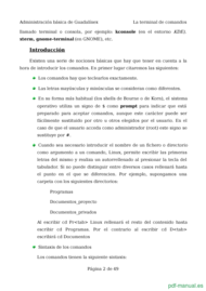 Curso El shell comandos básicos de linux 2