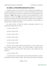 Curso El shell comandos básicos de linux 1