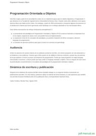 Curso Programación Orientada a Objetos 2