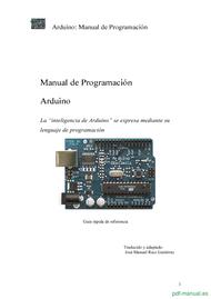Curso Arduino: Manual de Programación 1