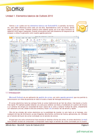 Curso Curso de Outlook 2010 2