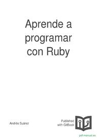 Curso Aprende a programar con Ruby 1