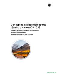 Curso Conceptos básicos del soporte técnico para macOS 10.13 1