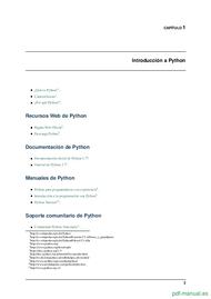 Curso Materiales del curso de programación en Python 2