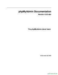 Curso PhpMyAdmin Documentation 1