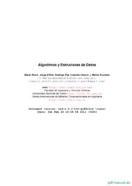 Curso Algoritmos y Estructuras de Datos 1