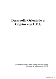 Curso Desarrollo Orientado a Objetos con UML 1