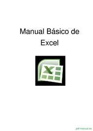 Curso Manual Básico de Excel 1