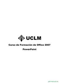 Curso Curso de Formación de PowerPoint 2007 1