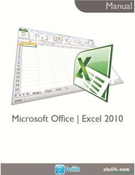 Curso Microsoft Office Excel 2010 1