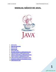 Curso Manual básico de java 1