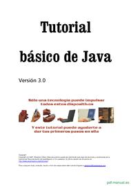 Curso Tutorial básico de Java 1