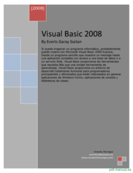 Curso Visual Basic 2008 1