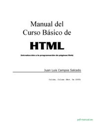 Curso Curso Básico de  HTML 1