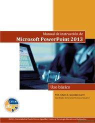 Curso Manual de Microsoft PowerPoint 2013 1