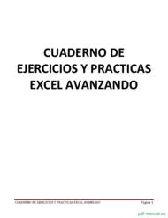 Curso Ejercicios y prácticas excel avanzando 1