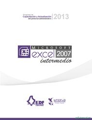 Curso Microsoft excel 2007 intermedio 1