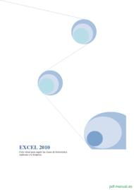 Curso Guía Excel 2010 1