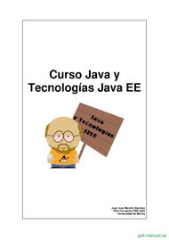 Curso Java y Tecnologías Java EE 1
