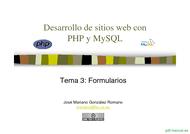 Curso PHP y MySQL - Formularios 1