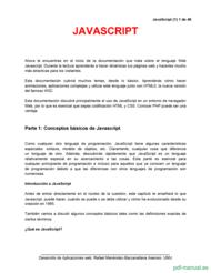 Curso tutorial básico de JavaScript 1