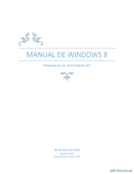 Curso Manual de Windows 8 1