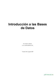 Curso Introducción a las Bases de Datos 1