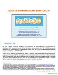 Curso Guía de referencia de Scratch 1