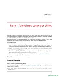 Curso CakePHP Cookbook Documentación 2